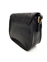 Load image into Gallery viewer, Shimmery Black Sling Bag