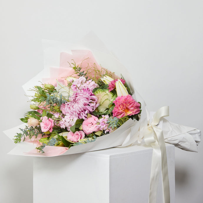 Large Seasonal Pastel Bouquet