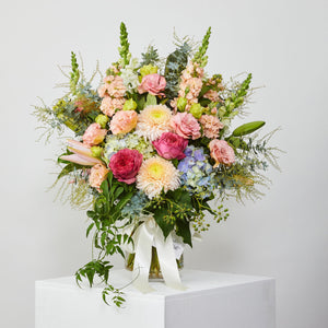 Large Pastel Vase Arrangement
