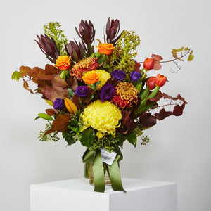 Large Bright Vase Arrangement