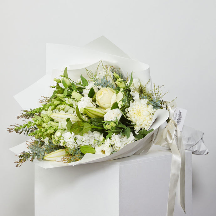Large Green & White Bouquet