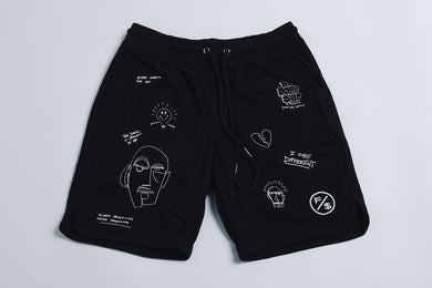 F/$ Basic Shorts (Abstract)