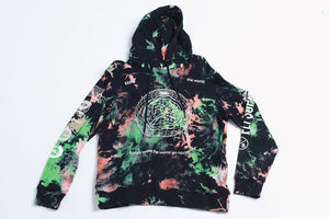 The World Tie-Dye - 2pc Hoodie/Short Set (Green)