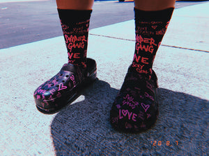 Socks: Women's L.O.V.E. 4PK (multi-color)