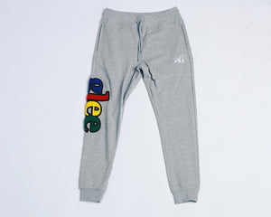 Glee Joggers (Grey-Multi)