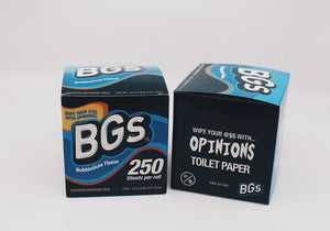 BG's: Opinions Toilet Paper