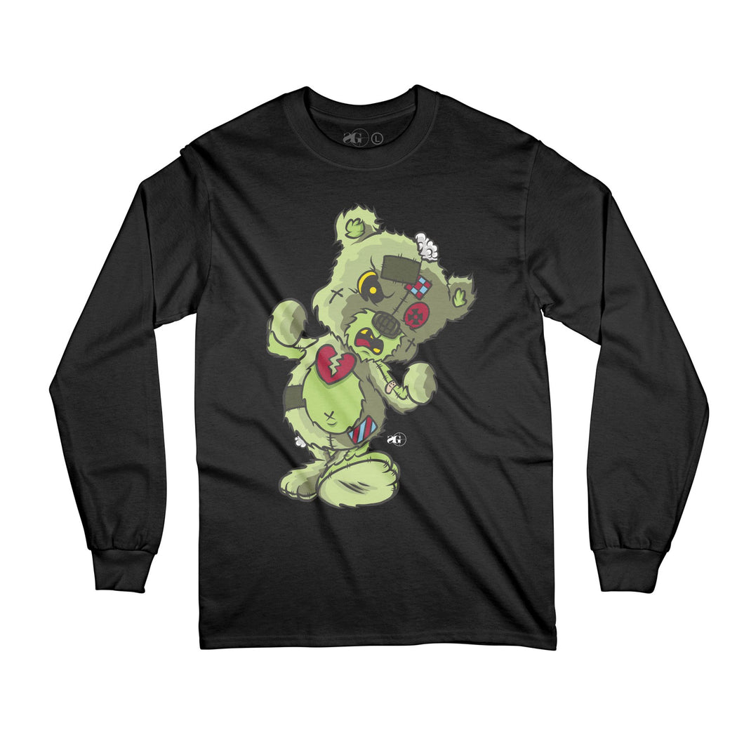 Slime HBK Bear Long Sleeve Tee (back design)