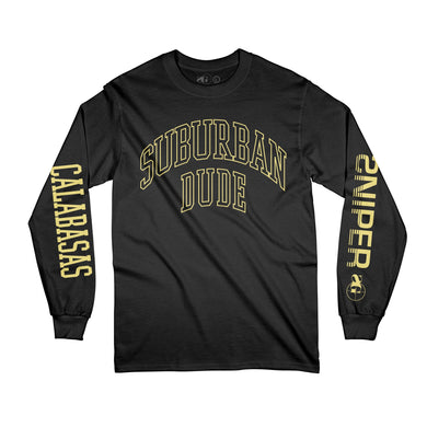 Suburban Dude Long Sleeve (BLK)