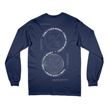 Global Long Sleeve - Family Over Money (Navy)