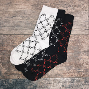Socks: SG Monogram 3PK