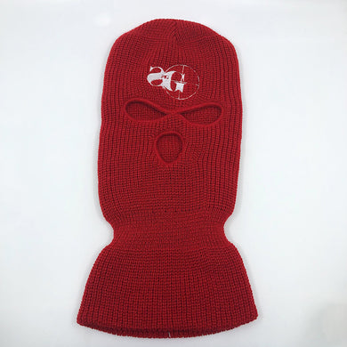 Ski Mask (RED/WHITE)