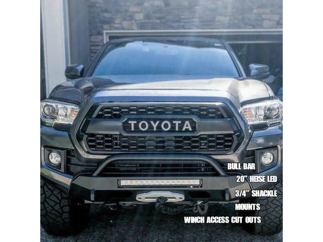 Southern Style 2016 - Current Tacoma Slimline Hybrid Bumper