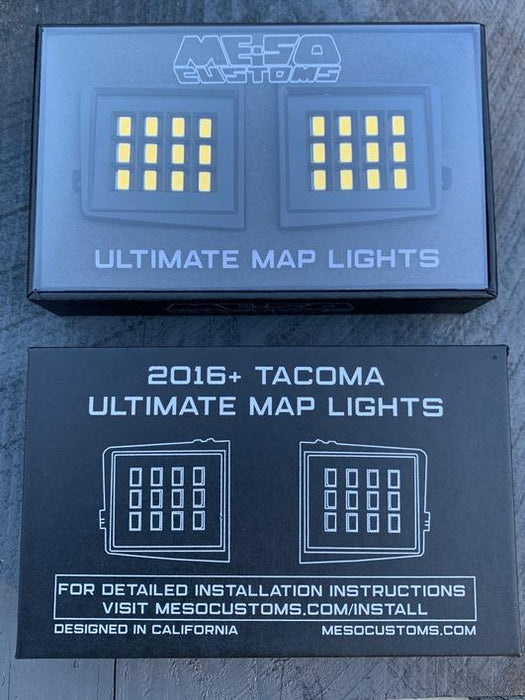 Meso Customs Ultimate Map Lights (2016-Current)