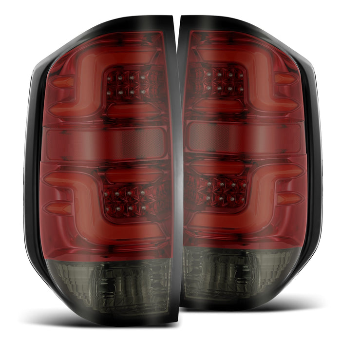 Toyota Tundra Alpha Rex Pro Series LED Red Smoke (2014-2021)
