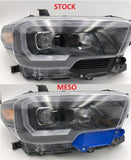 Meso Customs Tacoma Headlight Trim Plates (2016-2020)