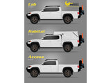 Prinsu Tacoma CabRack (4 Door Models) 2005-2020 *BEST SELLER*