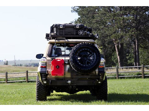 C4 Fabrication 2010-Current 4Runner Overland Series Half Swing Rear Bumper