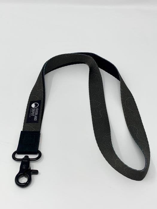 Overland Depot Thread Lanyard - Army Green