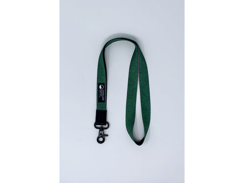 Overland Depot Thread Lanyard - Green
