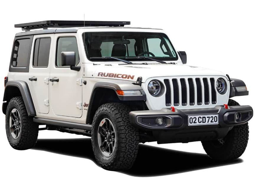 Front Runner 2017 - Current Jeep Wrangler JL 4 Door Extreme 1/2 Roof Rack Kit - Free Shipping