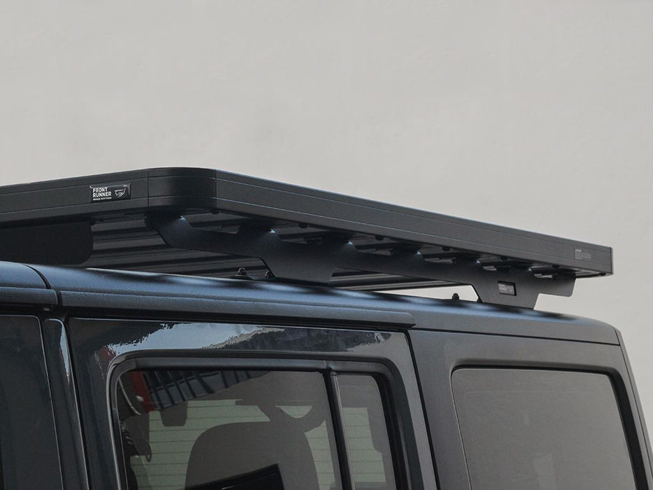 Front Runner 2007-2018 Jeep Wrangler JKU 4 Door Extreme 1/2 Roof Rack Kit - Free Shipping