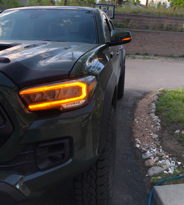 Tacoma Smoked Sequential Turn Signals (2016-2021)