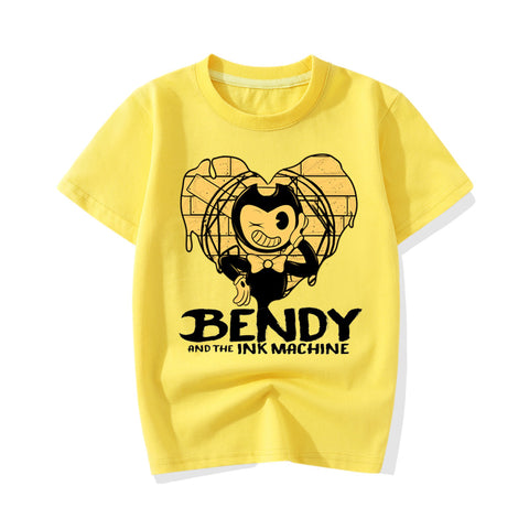 Bendy Shirt Roblox Bendy And The Ink Machine T Shirts Idealbts