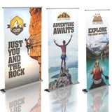 Silver-Step Premium Retractable Banners