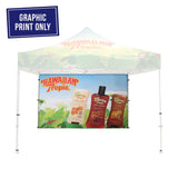 Event Tent Full Wall - Graphic Only