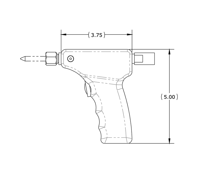 Pistol Grip Hand Piece 8002-40