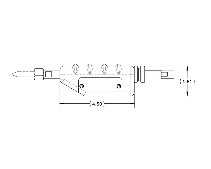 Force Fired Hand Piece 5687A