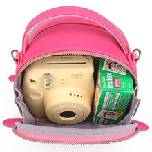 Load image into Gallery viewer, CAIUL Compatible Instax Mini First Generation Zipper Universal Carry Case for Fujifilm Instax Mini 8 8+ 9 70 7s 25 26 50s 90 Camera, Polaroid ZIP Mobile Printer, Instax Printer (Pink)