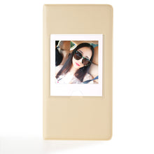 Load image into Gallery viewer, CAIUL Compatible 64 Pockets Square Book Album for Fujifilm Square SQ10 SQ6 Instant Film (Beige)