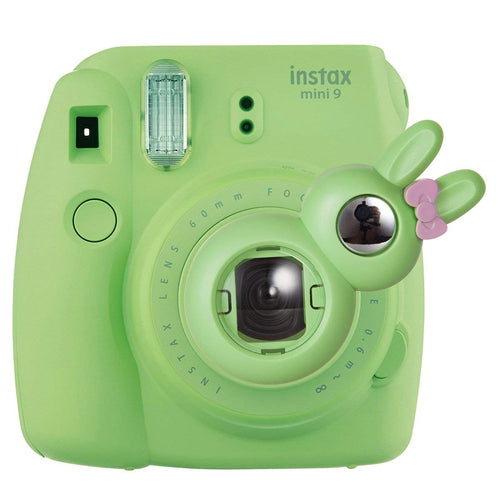 CAIUL Compatible Bunny Mini 9 Close Up Selfie Lens with Self-Portrait Mirror for Fujifilm  Mini 9 8 8+ 7s, Polaroid 300 Camera (Lime Green)