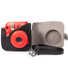 Load image into Gallery viewer, CAIUL Compatible Mini 8 8+ 9 Camera Case Bag With Soft PU Leather Material for Fujifilm Instax Mini 8 8+ 9 Film Camera (Colorful Painting)