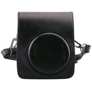CAIUL Compatible Mini 70 Case Bag With Soft PU Leather Material for Fujifilm Mini 70 Camera - Black