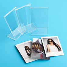 Load image into Gallery viewer, CAIUL Compatible Clear Acrylic Fridge Magnetic Frame, Double Sided Photo Magnet Frame for Fujifilm Mini 8 8+ 9 70 7s 90 25 26 50s Film, 3 pcs