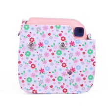 Load image into Gallery viewer, CAIUL Compatible Mini 8 Camera Case Bag With Soft PU Leather Material for Fujifilm Mini 8 8+ 9 Film Camera (Floral)