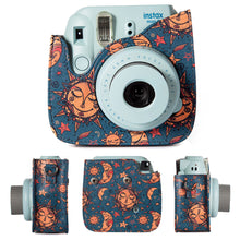 Load image into Gallery viewer, CAIUL Compatible Mini 8 Camera Case Bundle with Album, Filters & Other Accessories for Fujifilm Mini 9 8 8+ (Sun Moon Stars, 7 Items)