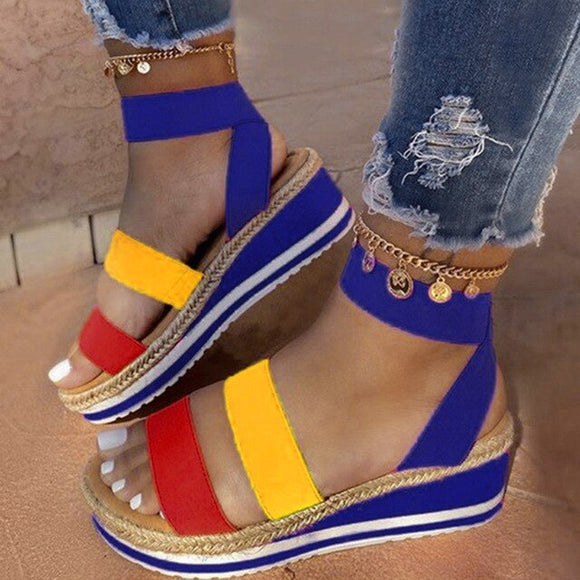 2020 New Women's Fashion Casual Platform Sandals