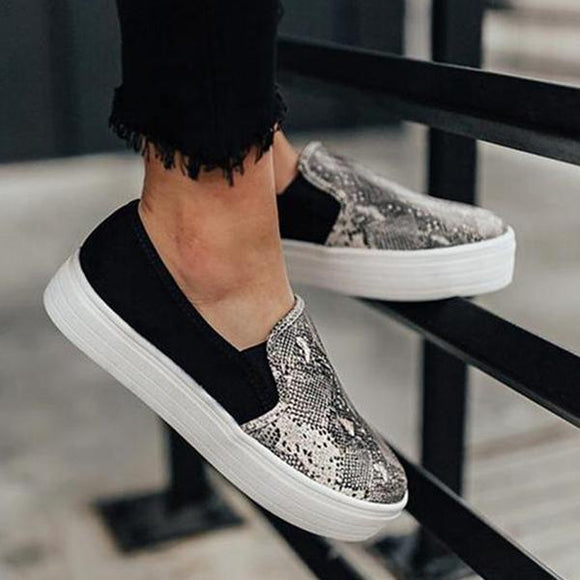 Flats - Fashion Simple Light Slip On Flat Shoes