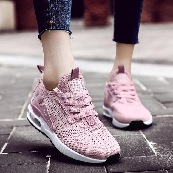 Women's Breathable Mesh Sport Sneakers