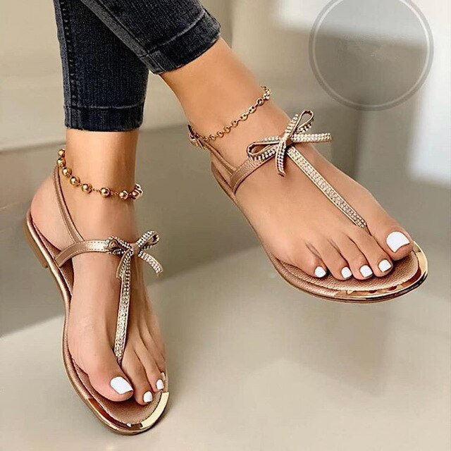 Women's New Fashion Flat Casual Summer Sandals