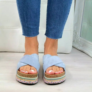 Women's Fashion Platform Soft Comfortable SlippersSandals