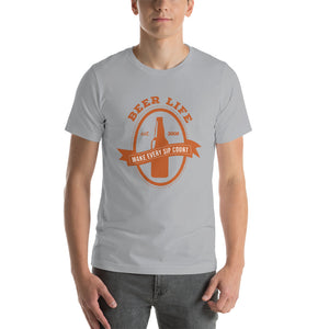 Thin Logo Short-Sleeve Unisex T-Shirt