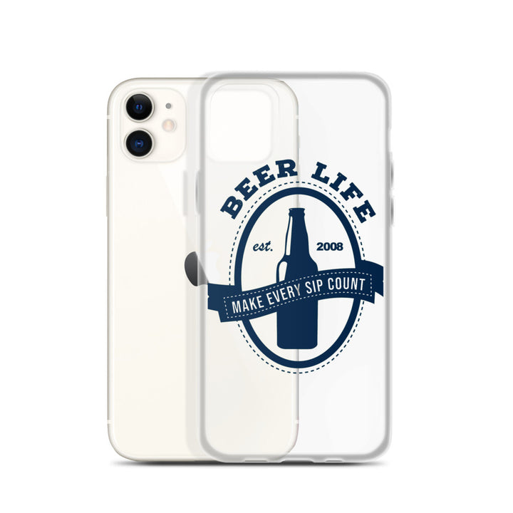 Make Every Sip Count iPhone Case