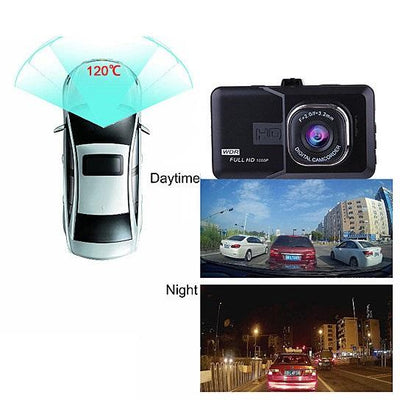 Black Box Dash Cam 1080P G-Sensor Looping Car Camera