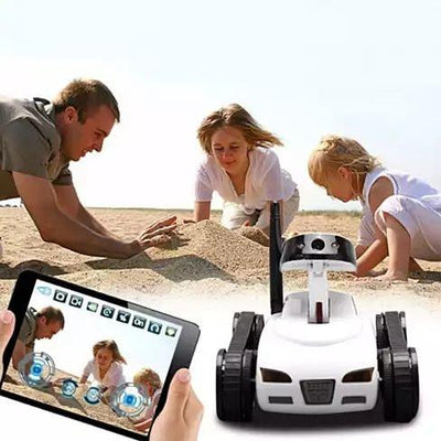 All Mighty TOY TANK with Wireless Camera and Remote Control by APP - VistaShops - 2