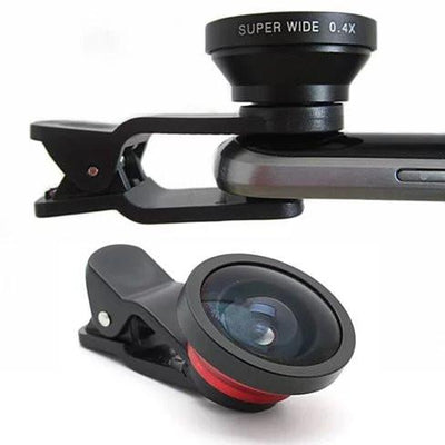 SUPER WIDE Clip and Snap Lens for iPhone and any Smartphone - VistaShops - 4