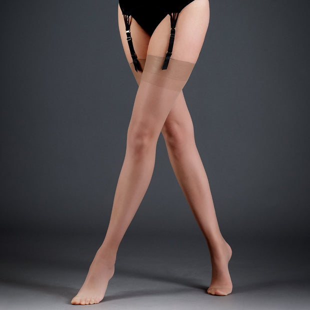 Stockings Plain Leg With Plain Top